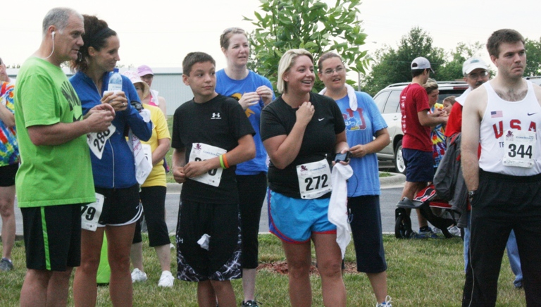 2012 Tonganoxie Small Town Big Cause 5K Run Walk