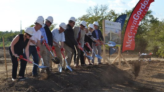 LMH Health West Groundbreaking Photo