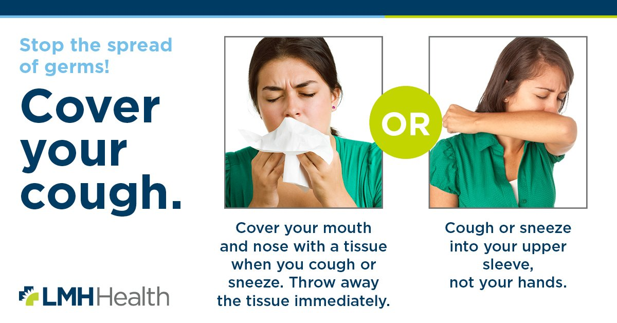 Cover your cough graphic
