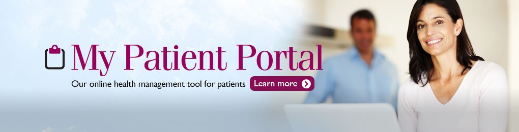 My Patient Portal. Online health management tools for LMH patients