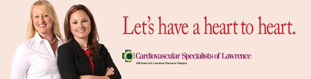 Women's Heart Health at Lawrence Memorial Hospital in Lawrence, KS
