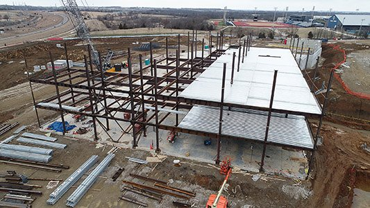 LMH Health West Construction Structure Photo
