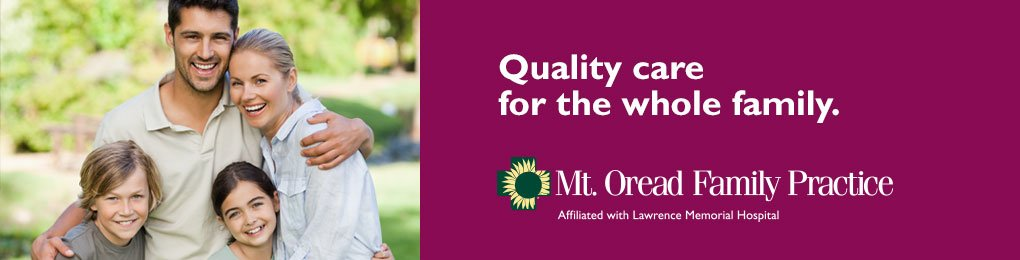 Quality care for the whole family at Mt. Oread Family Practice