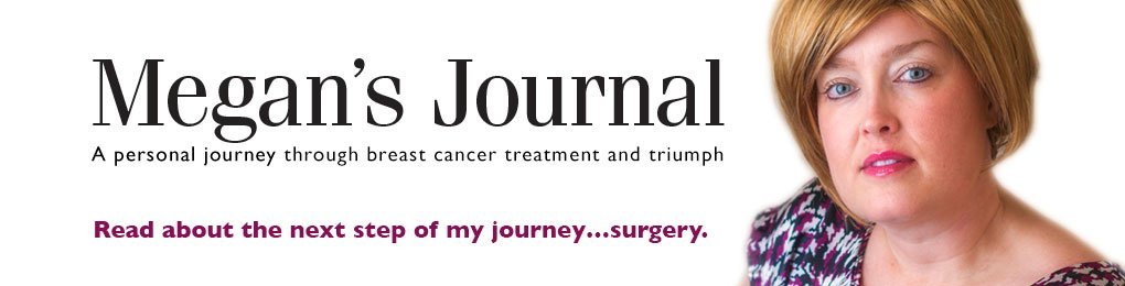 Megan's Journal, A personal journey through breast cancer treatment at Lawrence Memorial Hospital