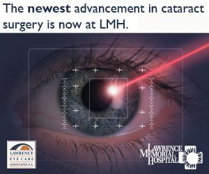 The newest advancement in cataract surgery is now at LMH.