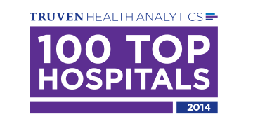 Truven Health Analytics 100 Top Hospitals 2014 logo